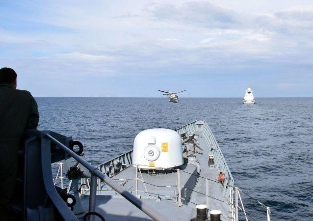 烏克蘭和美國在黑海進行聯合演習