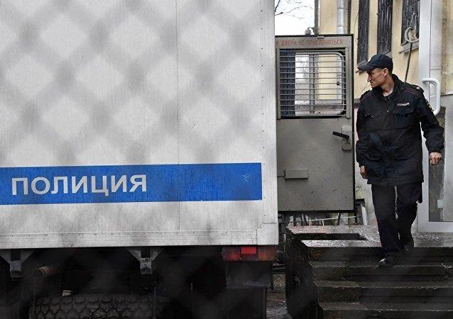 俄羅斯警方(資料圖片)