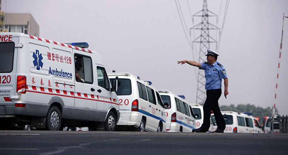 中國救護車(資料圖片)