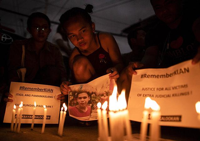 菲律賓警察因謀殺少年獲刑40年