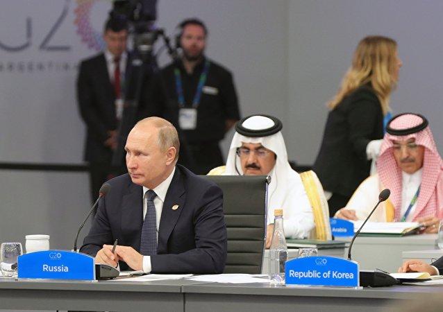 普京:G20峰會布宜諾斯艾利斯峰會宣言反映各國進一步合作願望