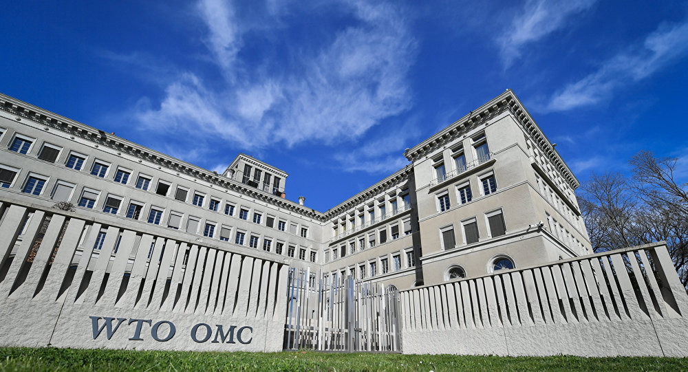 The World Trade Organization (WTO) headquarters are seen in Geneva