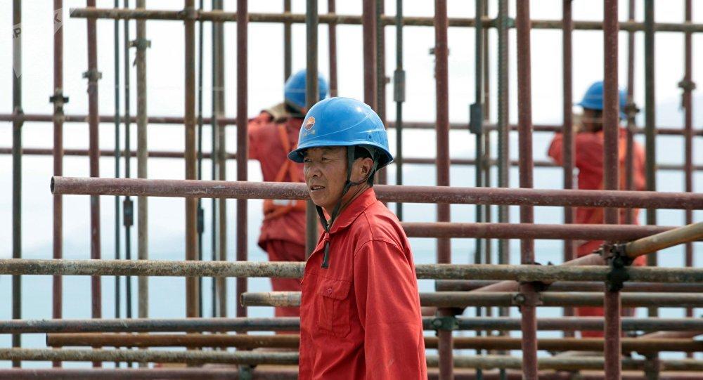 Китайский рабочий.