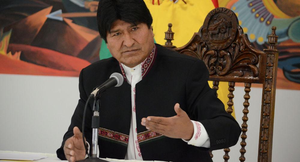 玻利維亞總統莫拉萊斯