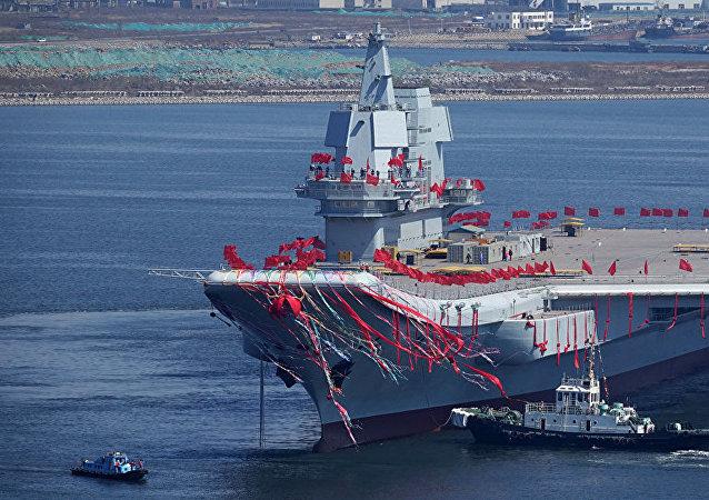 美國媒體談中國001A型航母(山東艦)的優勢
