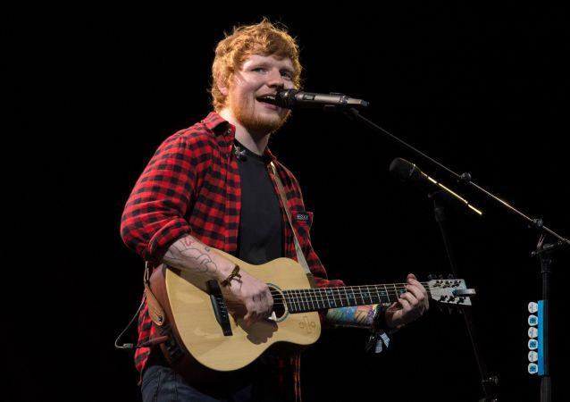 英國創作歌手艾德·希蘭(Ed Sheeran)