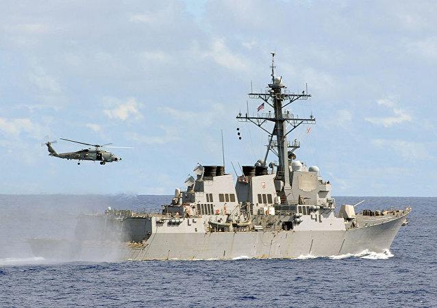 美國導彈驅逐艦「麥康貝爾號」(McCampbell)