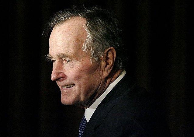 美國前總統老布什