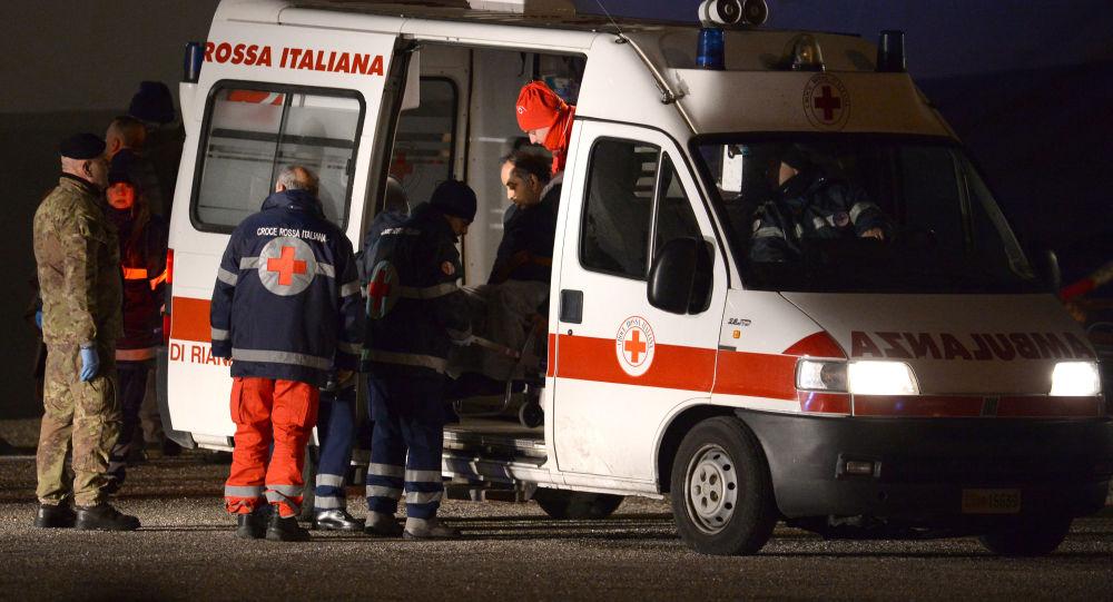意大利救護車(資料圖片)