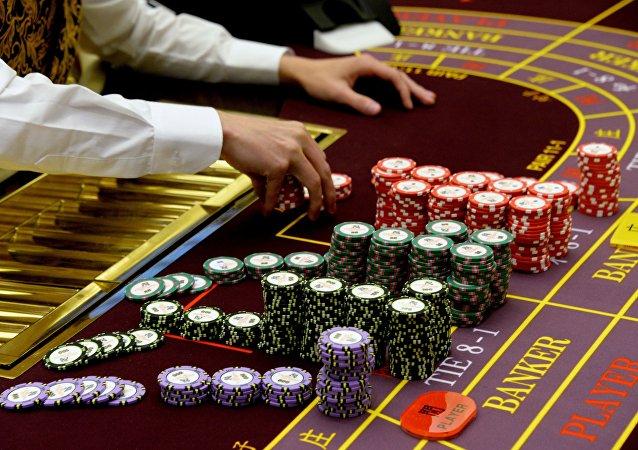 俄羅斯最大的賭場水晶虎宮殿