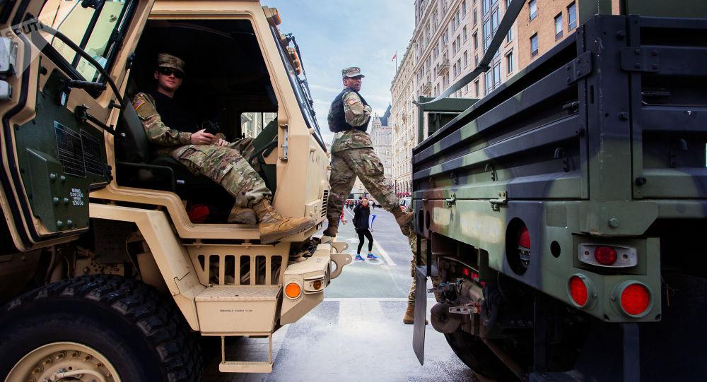 美國國民警衛隊士兵