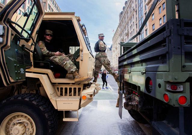 美國國民警衛隊(資料圖片)