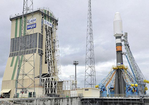 俄「聯盟-ST」運載火箭在法屬圭亞那庫魯航天發射場