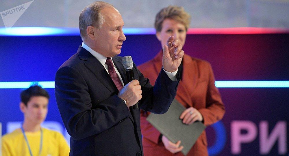 俄羅斯總統弗拉基米爾•普京,12月13日