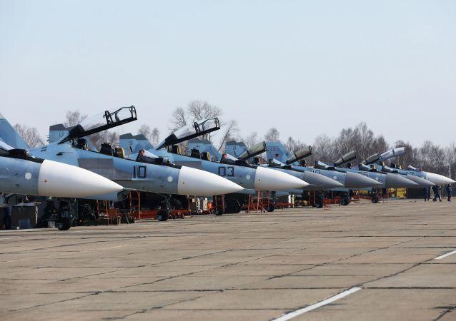 俄羅斯擬於年內完成對蘇-30SM戰鬥機改造型的試驗
