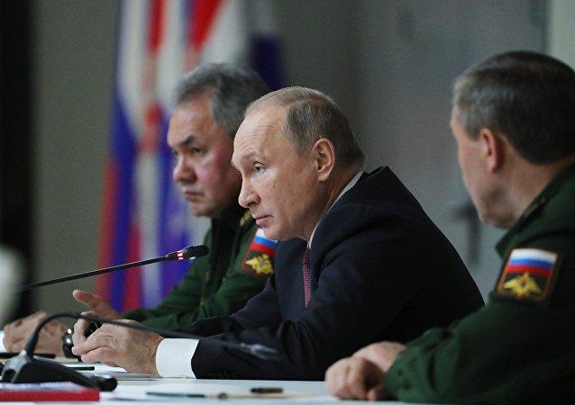 普京:美國退出《中導條約》或致世界安全架構崩塌