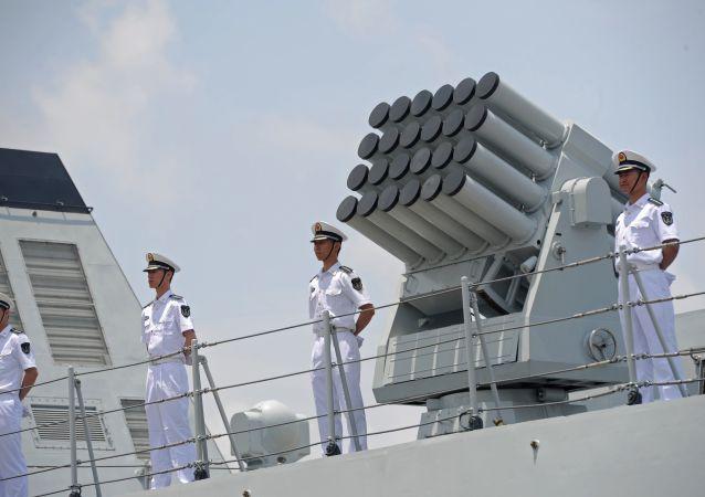 中國和巴基斯坦海軍聯演在卡拉奇拉開帷幕