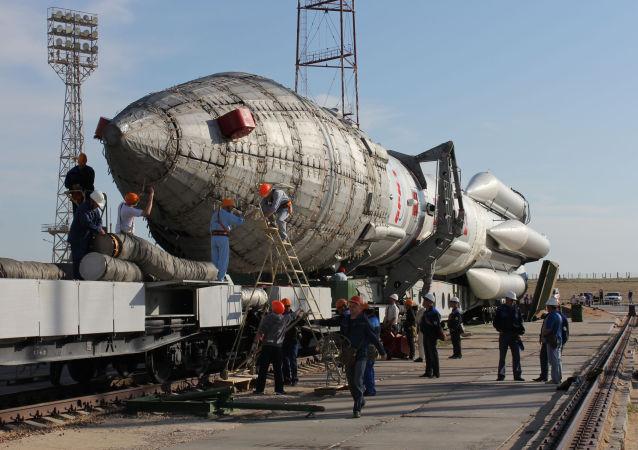 俄國防部:「質子-M「火箭成功將一顆軍用衛星送入軌道