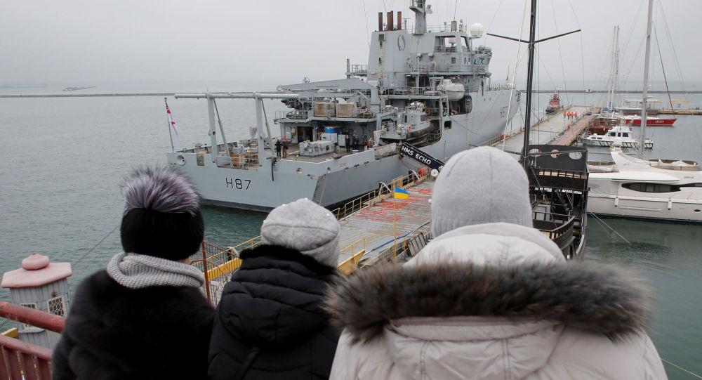英國海軍「Echo」號偵察船
