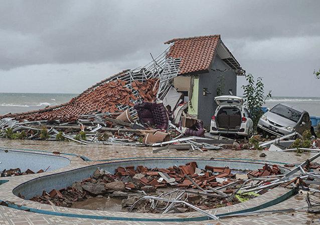 媒體:印尼海嘯的遇難者人數增至281人