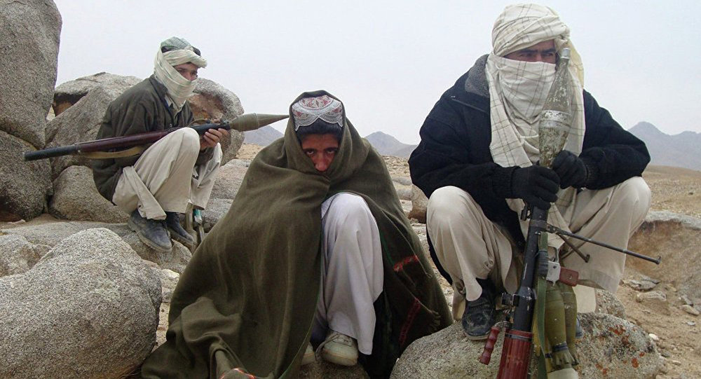 Taliban fighters.