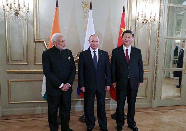 習近平確認G20期間參加中俄印領導人會晤