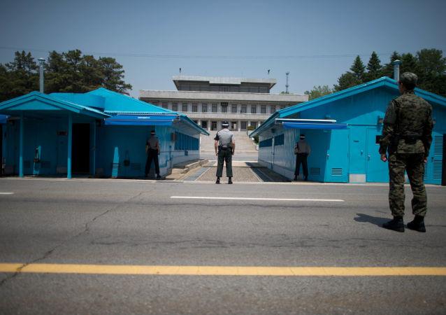 媒體:一朝鮮男子穿越朝韓邊界線時被韓國軍方拘捕