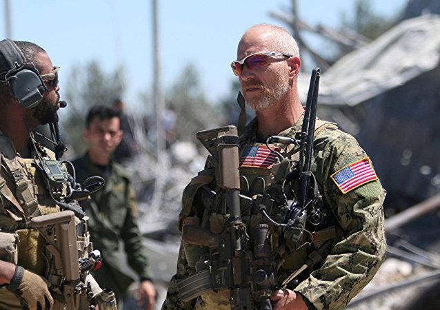 美國駐敘利亞軍隊