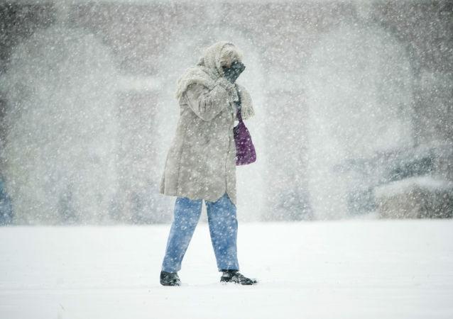暴風雪,美國