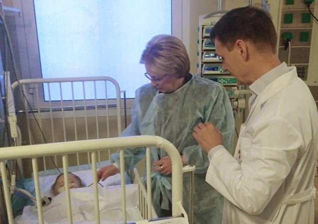醫生設法保住了馬格尼托哥爾斯克寶寶的腳
