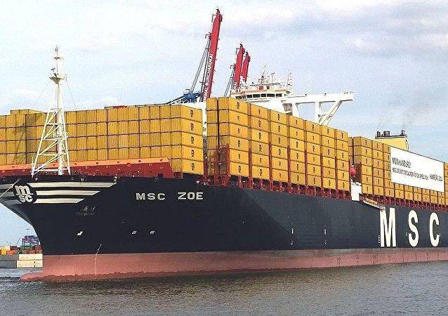 「MSC Zoe」號船