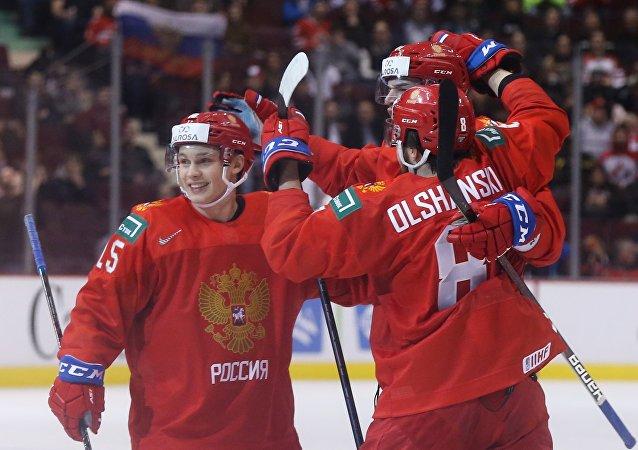 俄羅斯擊敗斯洛伐克晉級U20冰球世錦賽半決賽