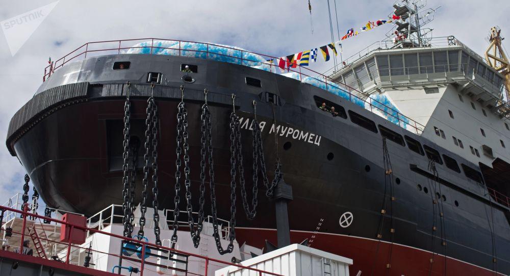 俄羅斯破冰船