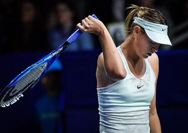 俄羅斯網球運動員瑪利亞·莎拉波娃