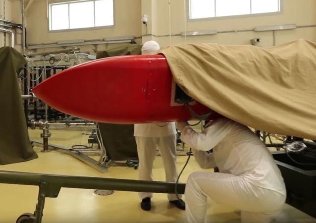 測試「海燕」核動力巡航導彈