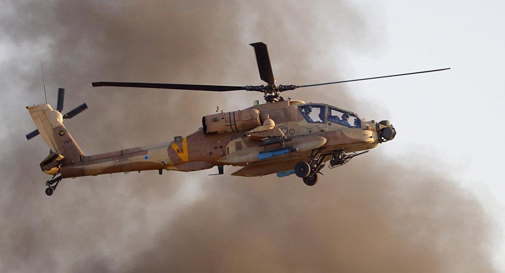 以色列軍隊AH-64 Apache Longbow直升機