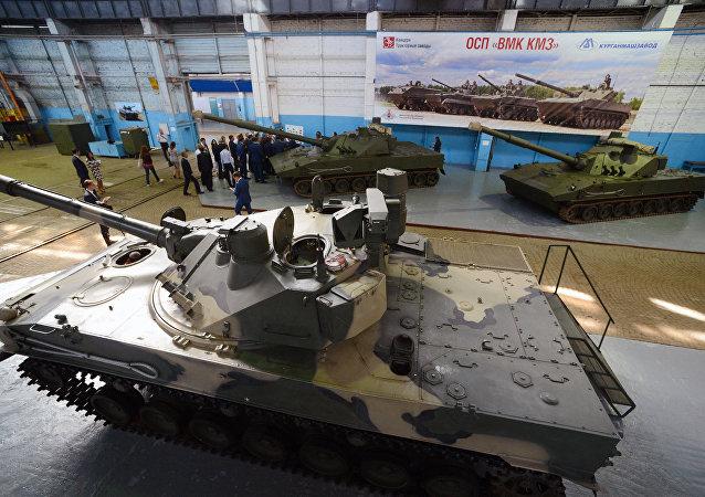 美國評價俄羅斯「蓮花」自行火炮