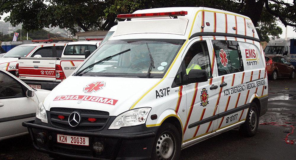 南非救護車(資料圖片)
