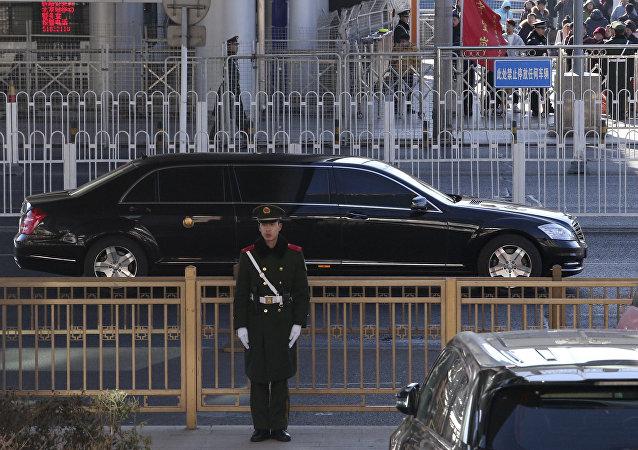 媒體:金正恩在京參觀同仁堂工廠