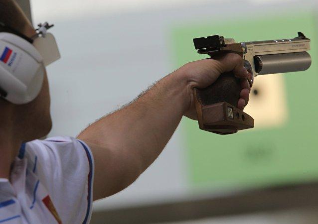 致傷性手槍