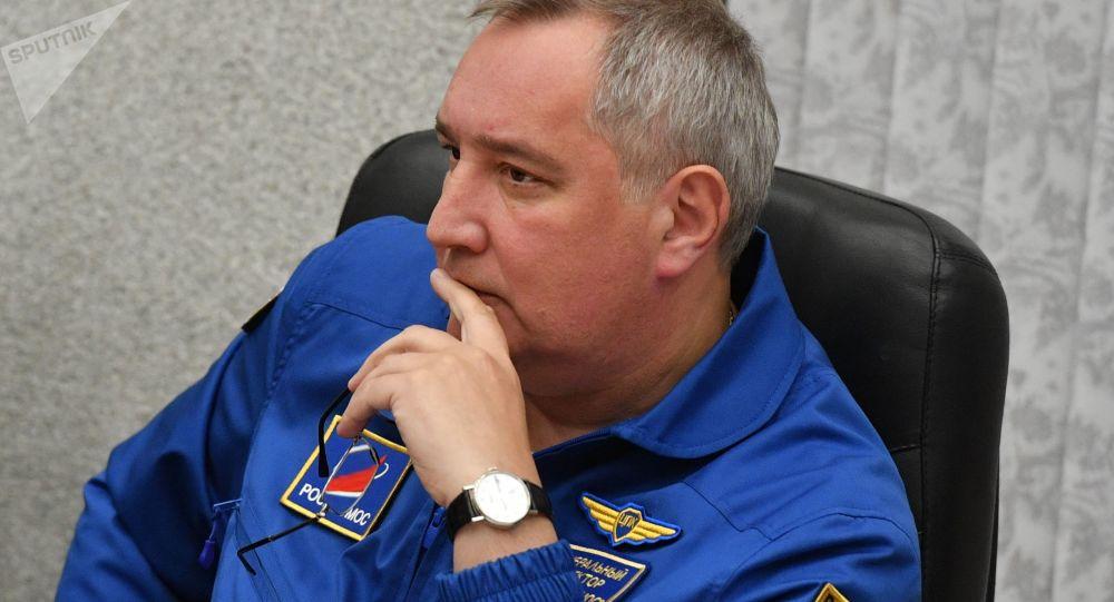 俄羅斯航天集團公司總裁德米特里∙羅戈津