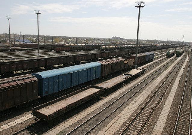 專家:經由俄羅斯的過境集裝箱鐵路運輸仍在在增長