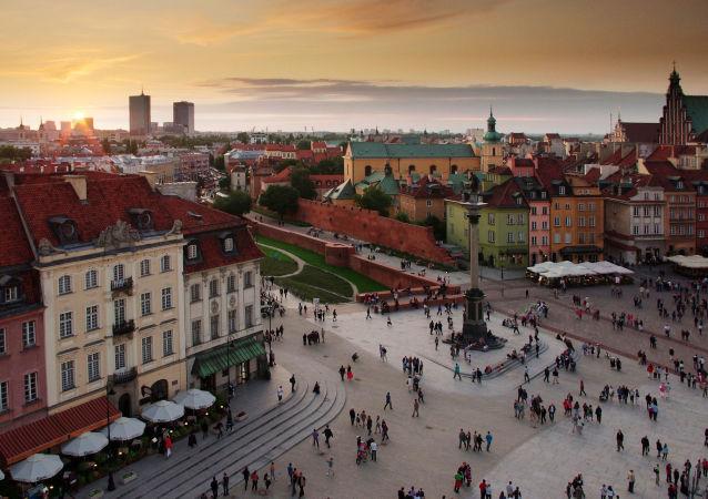 華沙,古城