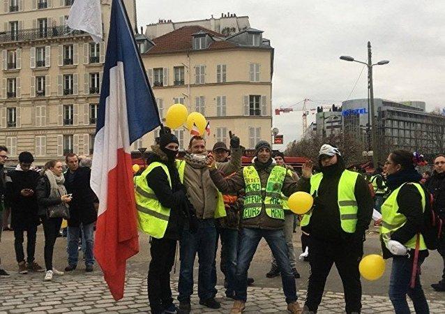 法國為抗議活動動員