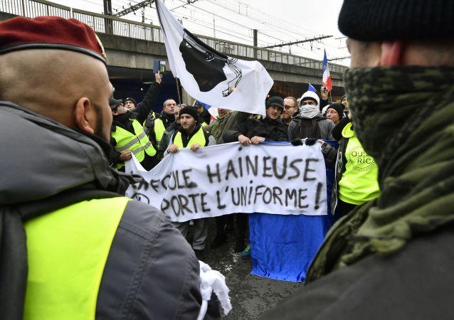 法國抗議活動被捕人數達240人 其中200人在押