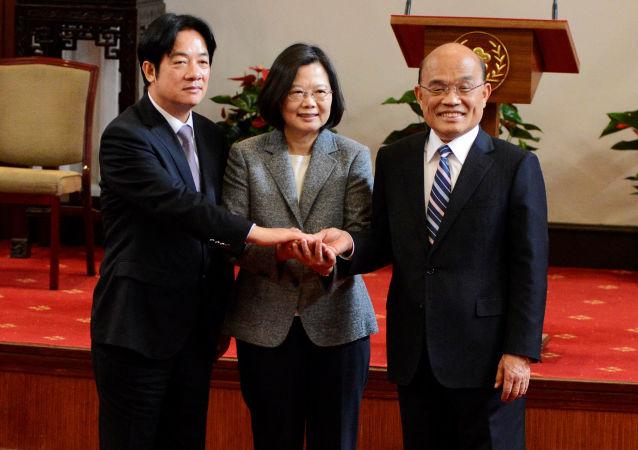 蘇貞昌正式就任台灣「行政院長」