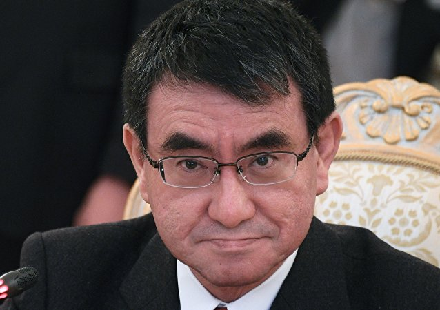 日本外相會見美國朝鮮問題特別代表