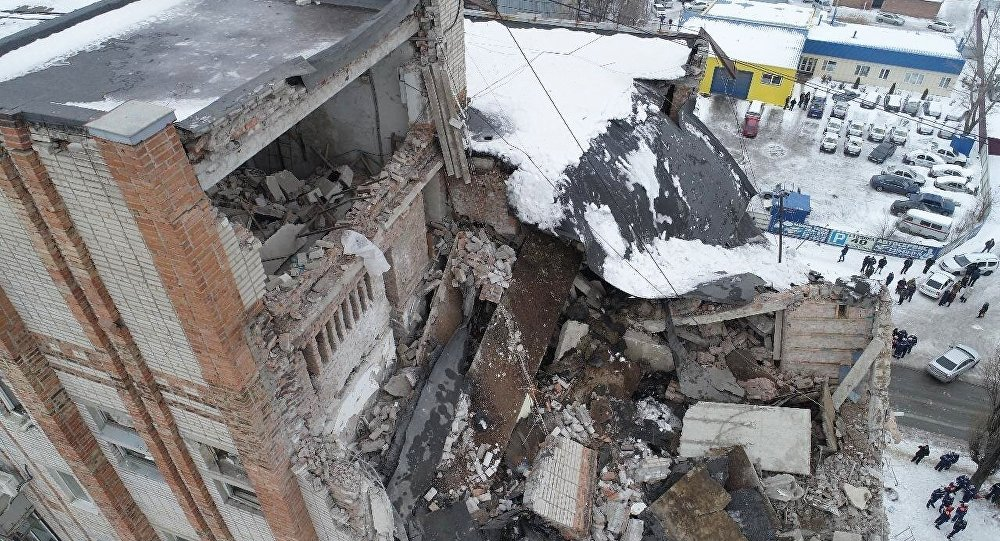 俄緊急情況部:救援人員發現沙赫特樓房垮塌事故第五具遺體