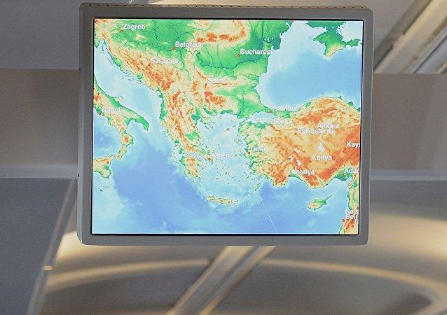 巴爾乾地區,土耳其及地中海