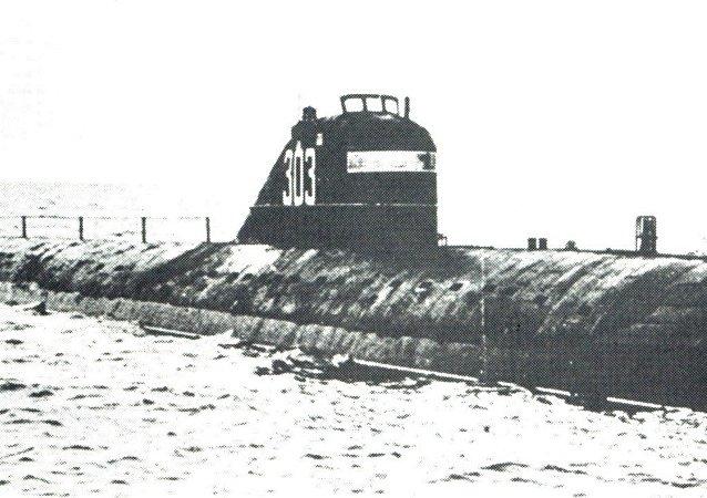 「列寧共青團員號」核潛艇